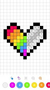 Скриншот Number Coloring: Sandbox Coloring