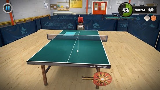 Скриншот Table Tennis Touch