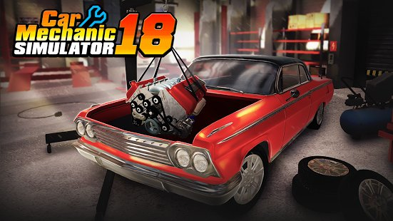 Скриншот Car Mechanic Simulator 18