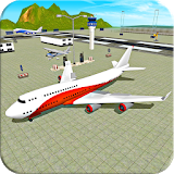Иконка Fly Jet Airplane - Real Pro Pilot Flight Sim 3D