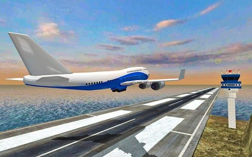 Скриншот Fly Jet Airplane - Real Pro Pilot Flight Sim 3D