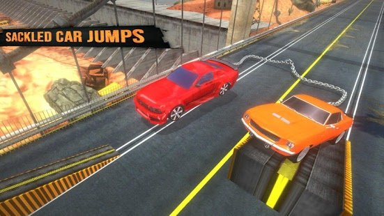 Скриншот Chained Cars Racing Rampage
