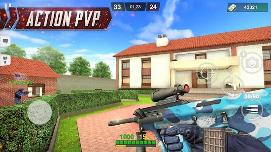 Скриншот Critical Battle Strike: Online FPS Arena Shooter