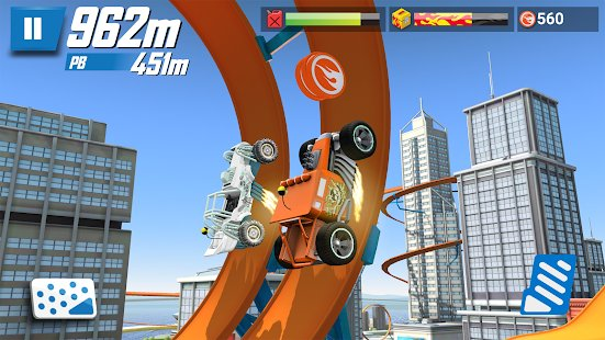 Скриншот Hot Wheels: Race Off