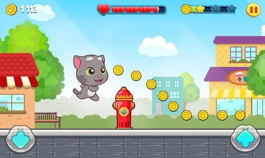 Скриншот Talking Tom Candy Run