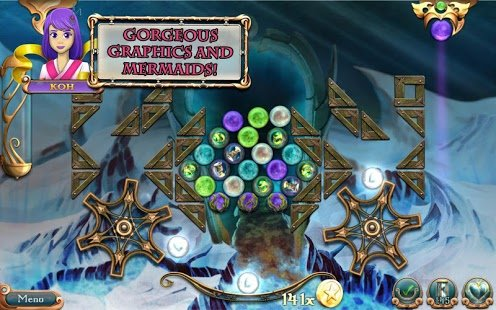 Скриншот League of Mermaids: Match-3