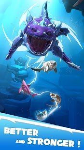 Скриншот Hungry Shark Heroes