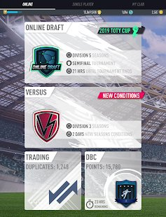 Скриншот FUT 19 DRAFT by PacyBits