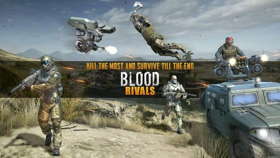 Скриншот Blood Rivals - Survival Battleground FPS Shooter