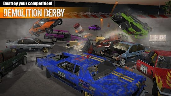 Скриншот Demolition Derby 3