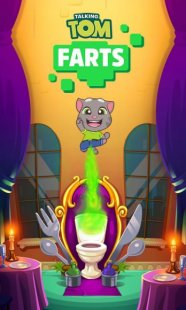 Скриншот Talking Tom Farts