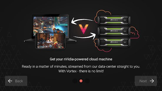 Скриншот Vortex Cloud Gaming