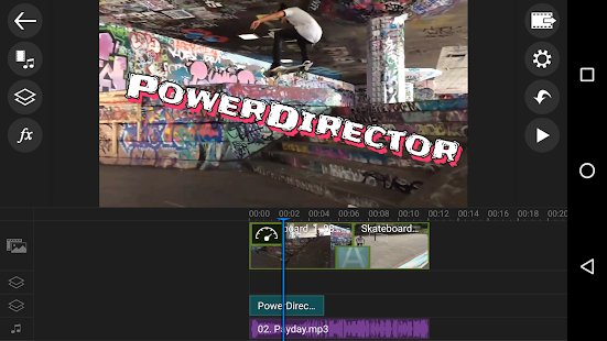 Скриншот PowerDirector