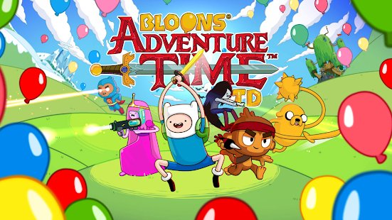 Скриншот Bloons Adventure Time TD