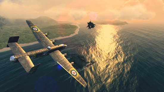 Скриншот Warplanes: WW2 Dogfight