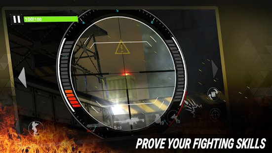 Скриншот Fire Sniper Combat: FPS 3D Shooting Game