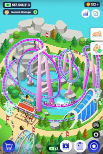 Скриншот Idle Theme Park - Tycoon Game