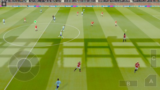 Скриншот Dream League Soccer 2020