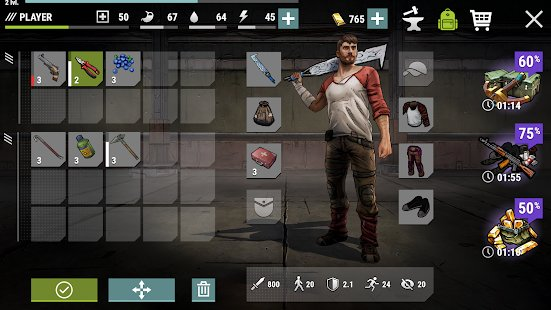 Скриншот Dark Days: Zombie Survival