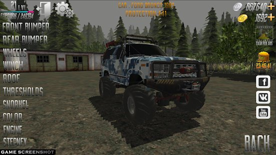 Скриншот WHEELS IN MUD : OFF-ROAD SIMULATOR