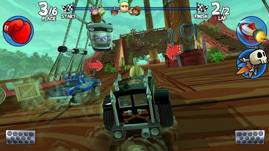 Скриншот Beach Buggy Racing 2