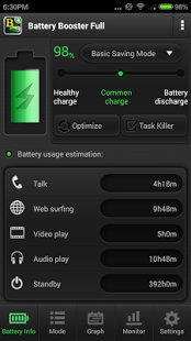 Скриншот Battery Booster (Full)