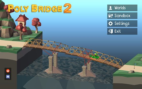 Скриншот Poly Bridge 2