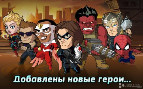 Скриншот Marvel Беги! Круши! (Marvel Run Jump Smash!)