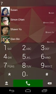 Скриншот ExDialer - Dialer & Contacts