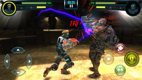 Скриншот Real Steel World Robot Boxing