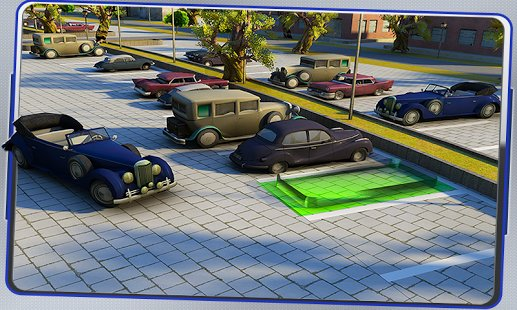 Скриншот Classic Car Parking 3D