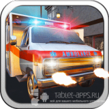 Иконка Ambulance Gun Run Racing 3D