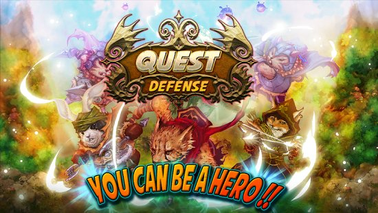 Скриншот Quest Defense - Tower Defense