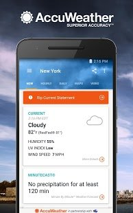 Скриншот AccuWeather Platinum