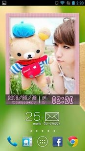 Скриншот Animated Photo Widget
