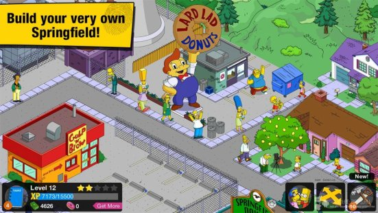 Скриншот The Simpsons™: Tapped Out