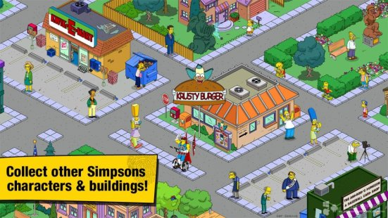 Скриншот The Simpsons: Tapped Out