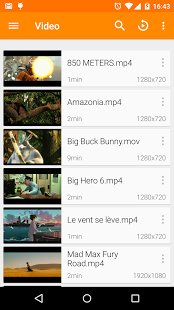 Скриншот VLC for Android