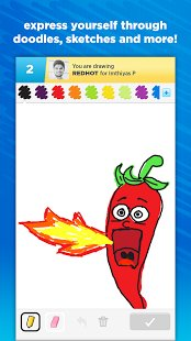 Скриншот Draw Something