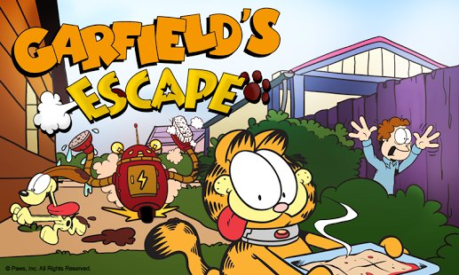 Скриншот Garfield's Escape