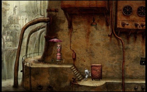 Скриншот Machinarium