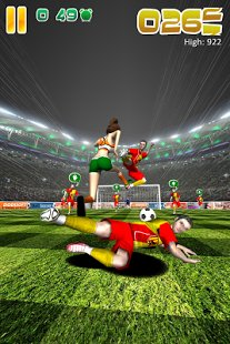 Скриншот Ball Soccer (Flick Football)