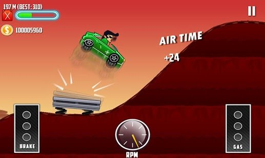 Скриншот Mountain Climb Race 3