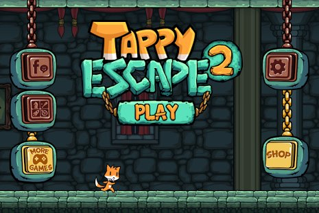Скриншот Tappy Escape 2 - Spooky Castle
