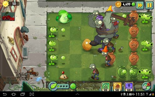 Скриншот Plants vs. Zombies 2