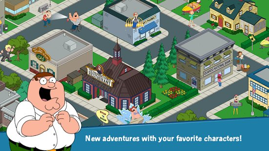 Скриншот Family Guy The Quest for Stuff